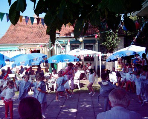 Veranstaltung in der Kleingartenanlage Veilchen in Erfurt